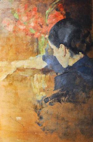 Portret Kobiety. Olga Boznanska