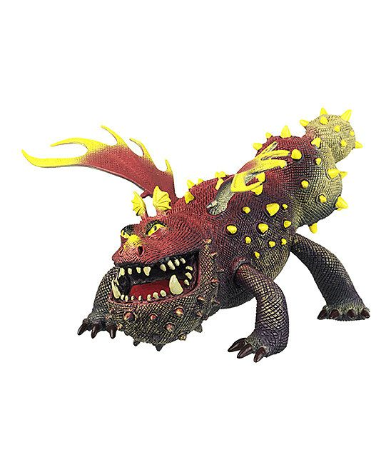 How to Train Your Dragon Brown & Yellow Gronckle Toy
