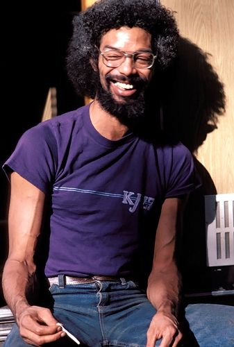 "Gil-Scott Heron, daum I used to think Gil Scott was fizzine, used to see him on the ""D"" train in Harlem"