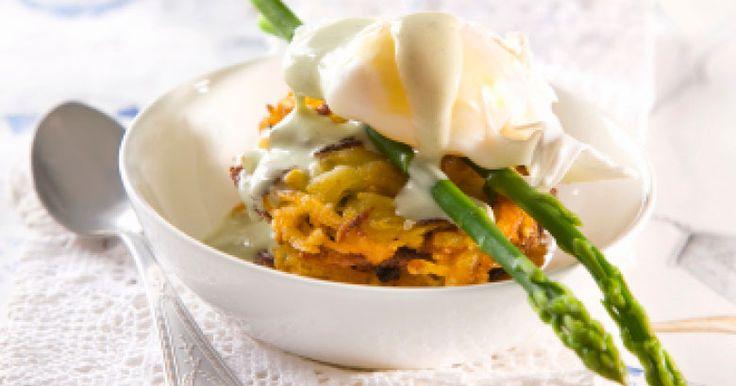 Carrot & Kumara Rosti with Hollandaise | Recipe for Kenwood by Eugene Hamilton