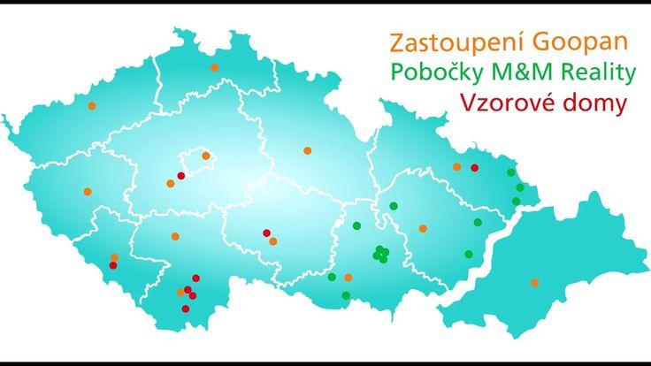 Goopan mapa poboček