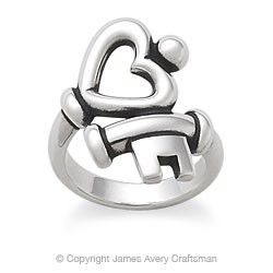if you love me youll buy me this kthx!  James Avery Ring- Key To My Heart❤