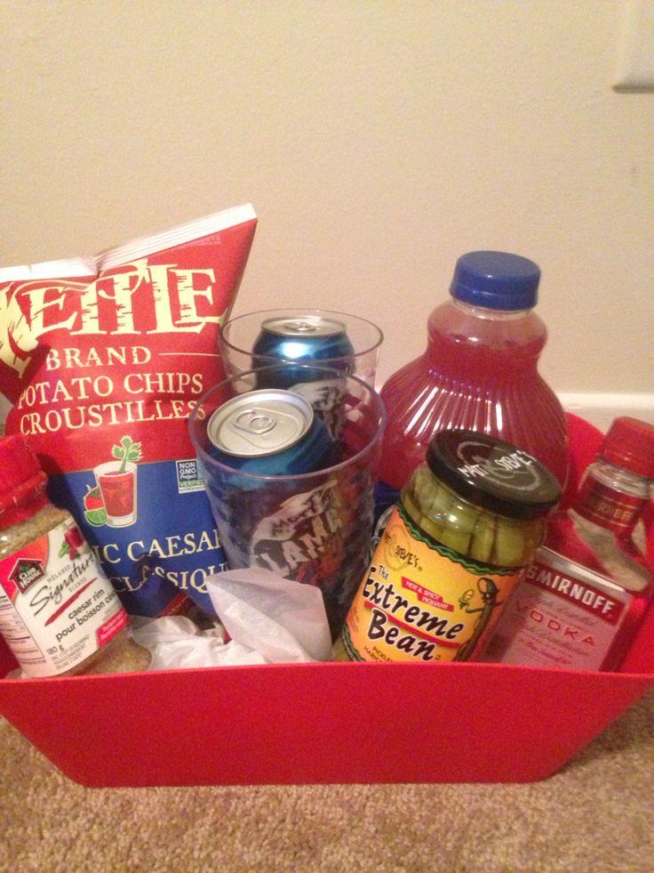 Caesar basket for buck and doe prize