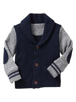 French terry shawl cardigan   Gap  So excited about getting this for my son....I know he will be super cute in this!