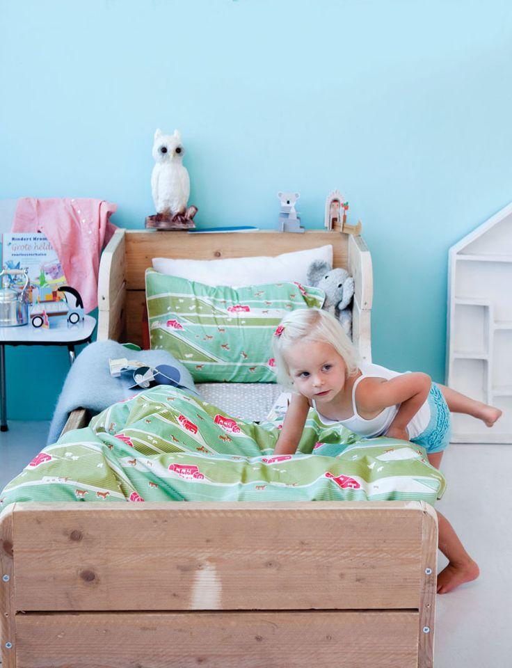 Beddengoed paarden - Kidsonroof - BijzonderMOOI* - Dutch design