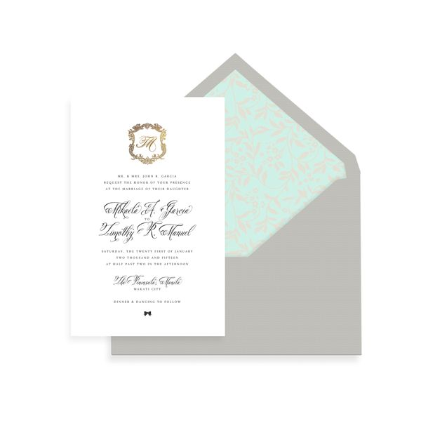 15 best classic wedding invitations images on pinterest classic wedding invitation philippines stopboris Gallery