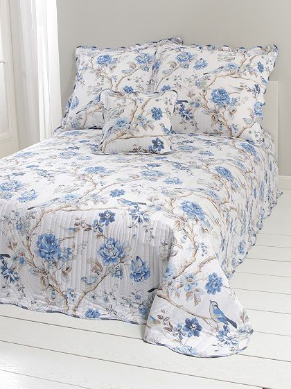 heine home ágytakaró nyomott virágmintával