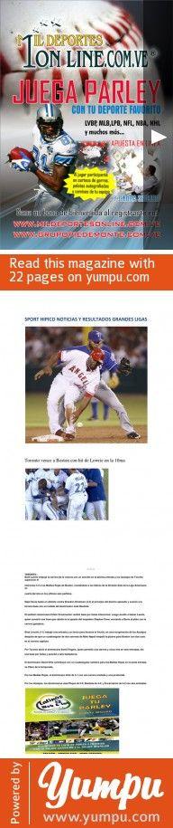REVISTA SPORT HIPICO JUEVES 15 AGOSTO.pdf-REVISTA HIPICA DEPORTIVA CON DATOS PARA JUGAR PARLEY  , LOGROS Y RESULTADOS MLB , RETROSPECTOS SANTA RITA Y MAS