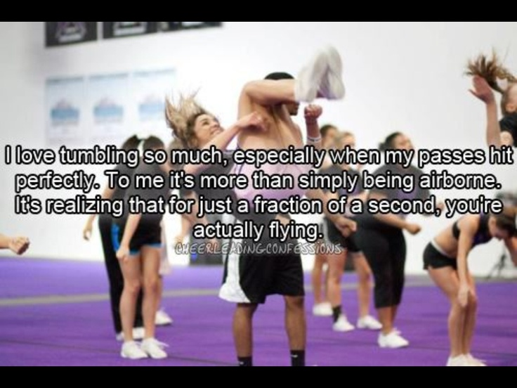 1000 Tumbling Quotes On Pinterest Cheer Bows Cheer And
