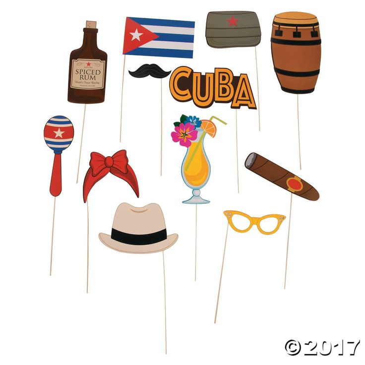With these Cuban Party Photo Stick Props, guests will have an amazing time at your next Havana Nights party. Spice up the fun with photo props and create ...