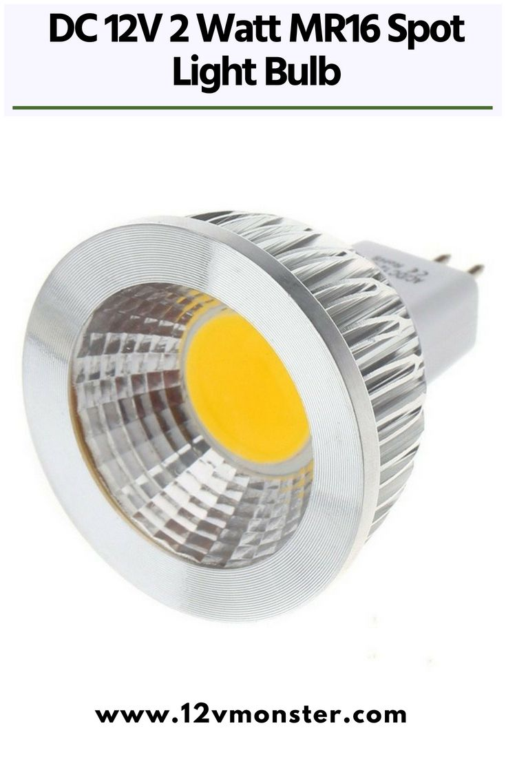 Dc 12v 2 Watt Mr16 Spot Light Bulb For Track Recessed Lighting System Cob Led Bulb Light Bulb Lighting System