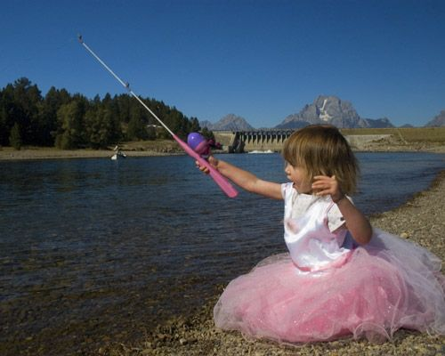17 best images about bustin 39 the stereotypes on pinterest for Pink fishing gear