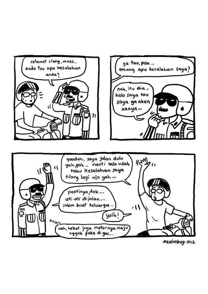 MASDIMBOY asli yang ini bikin ngakak...  good for showing use of  Anda and more sopan language. Bahasa Indonesia