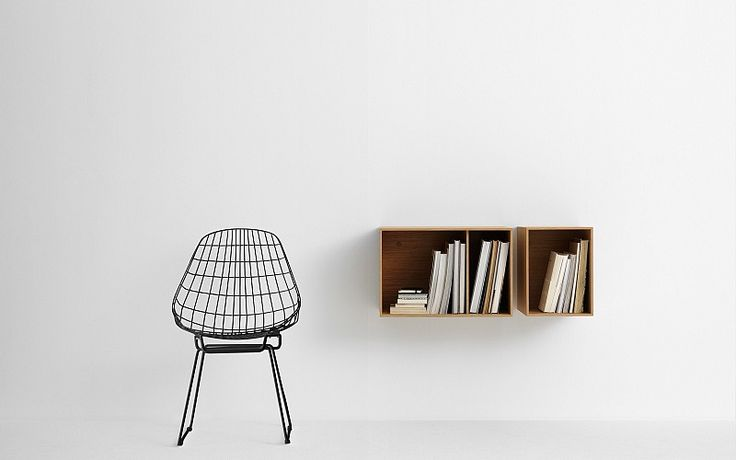 Pastoe - Pastoe Chairs: Wire Collection - SM05 - Wire Collection - SM05 Boxes . Design: Cees Braakman - 1958