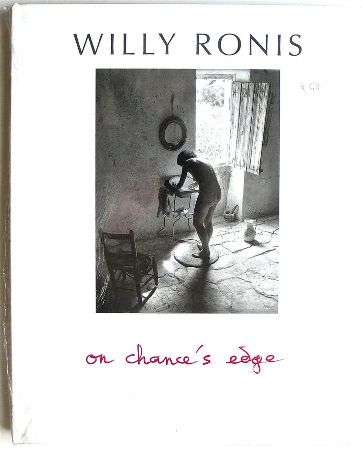 [still sealed] Willy Ronis : On Chance's Edge