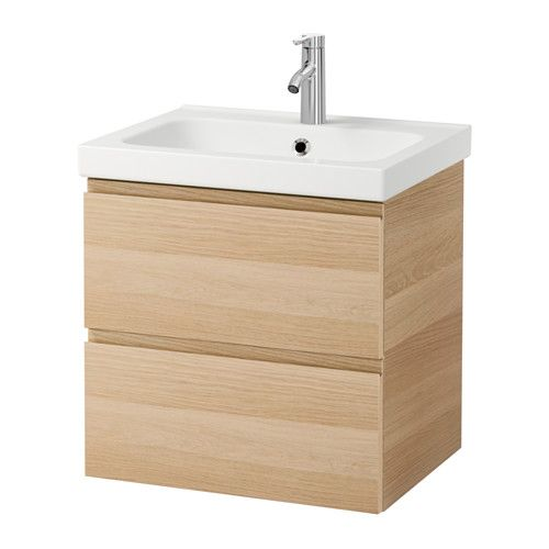 GODMORGON / ODENSVIK Meuble lavabo 2tir IKEA Garantie 10 ans gratuite. Détails des conditions disponibles en magasin ou sur internet.