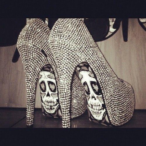 diamond heels · Halloween ShoesScary ...