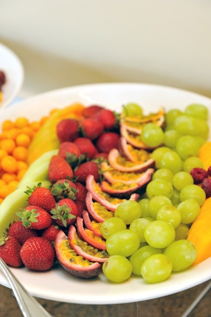 A buffet of healthy delights at The Table Bay Hotel, Cape Town