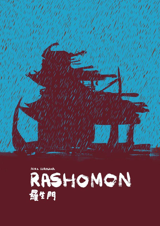 Rashomon (1950) (arte por Abdi Adam)