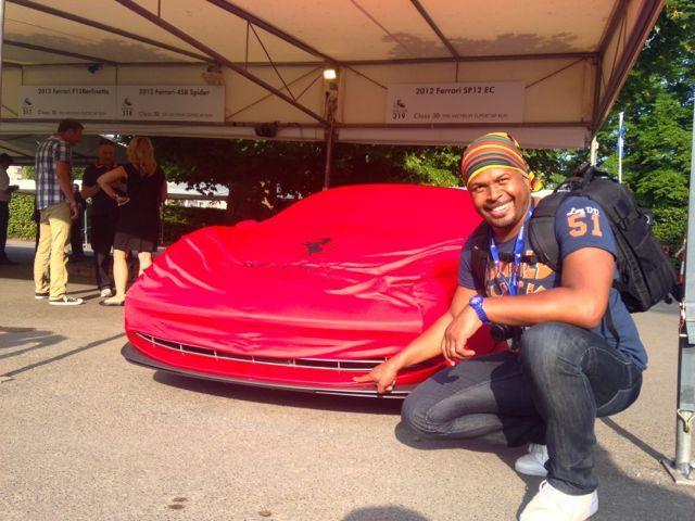 Festival os Speed Goodwood Ferrari SP EC12