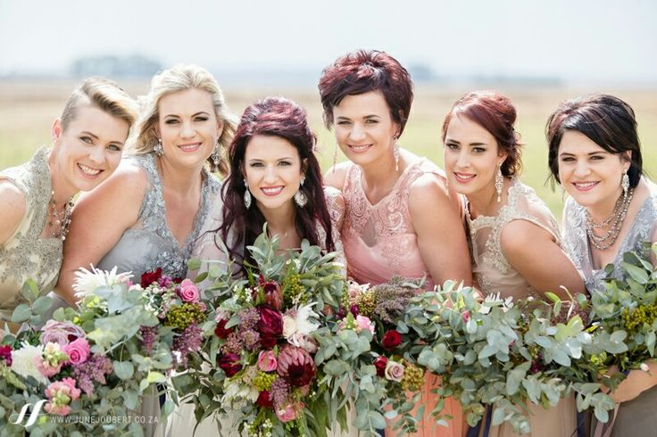 botanical wedding bridesmaids