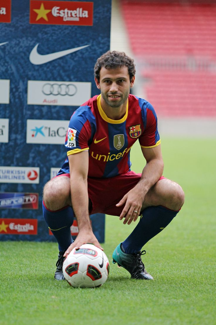 34 best Javier Mascherano images on Pinterest