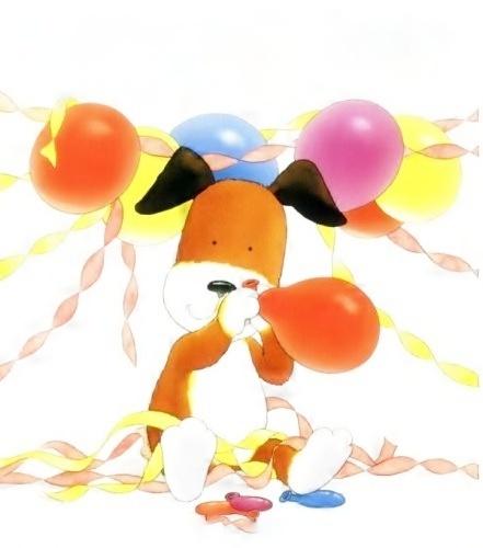 Kipper the dog birthday