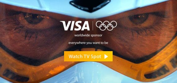 A Paid Search First? Olympic Sponsor Visa Opts To Advertise Its Tumblr On Google, Bing and Yahoo