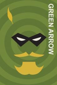 Green Arrow Comic Book Poster
