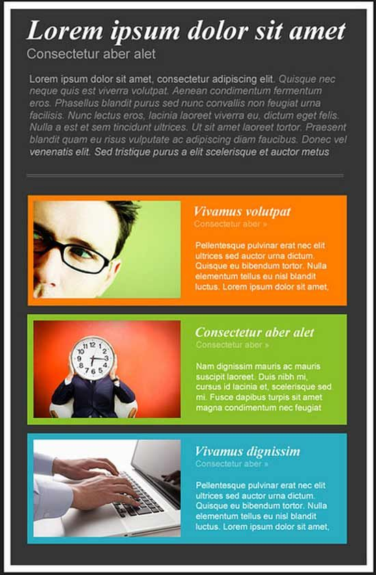 Best 25+ Html Newsletter Templates Ideas On Pinterest | Email