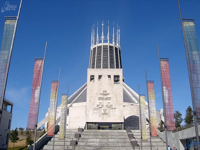 Liverpool Cathedral - 1 by Steve Swis, via Flickr