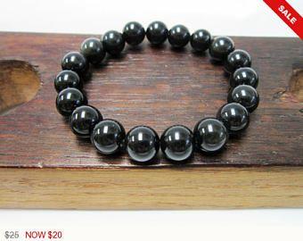 Pulsera Obsidiana Negra, Pulsera Chakra Obsidiana Negra, Pulsera Curativa Obsidiana Negra, Pulsera Meditacion Yoga Obsidiana Negra Sagitario