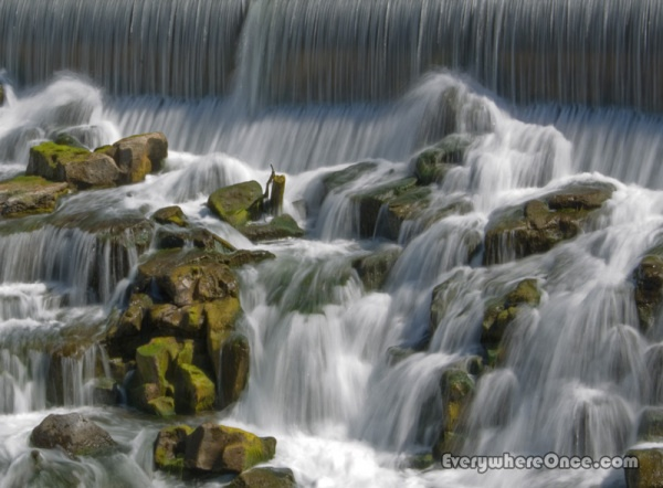 Idaho Falls, Idaho  2012, not my photo. it was nice to see and photograph but it's not big as this would suggest