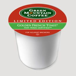 My second shipment of Keurig coffee came today. This stuff smells just like Mom's french toast and has a great flavor. I hereby apologize for all of my snotty remarks about people who drink frufru coffee. This stuff is INSANE!!!!!!!!!
