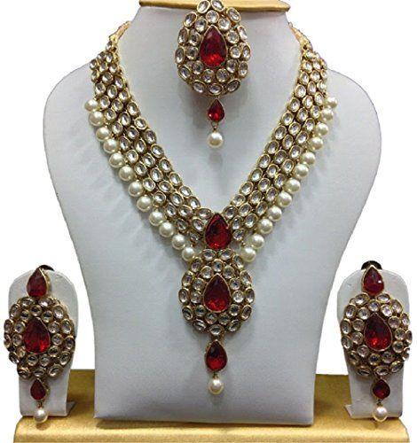 Dazzling Red Indian Gold Plated Bollywood Gold Plated Wed... https://www.amazon.com/dp/B01MYBIFBU/ref=cm_sw_r_pi_dp_x_ruYHyb712MRCD