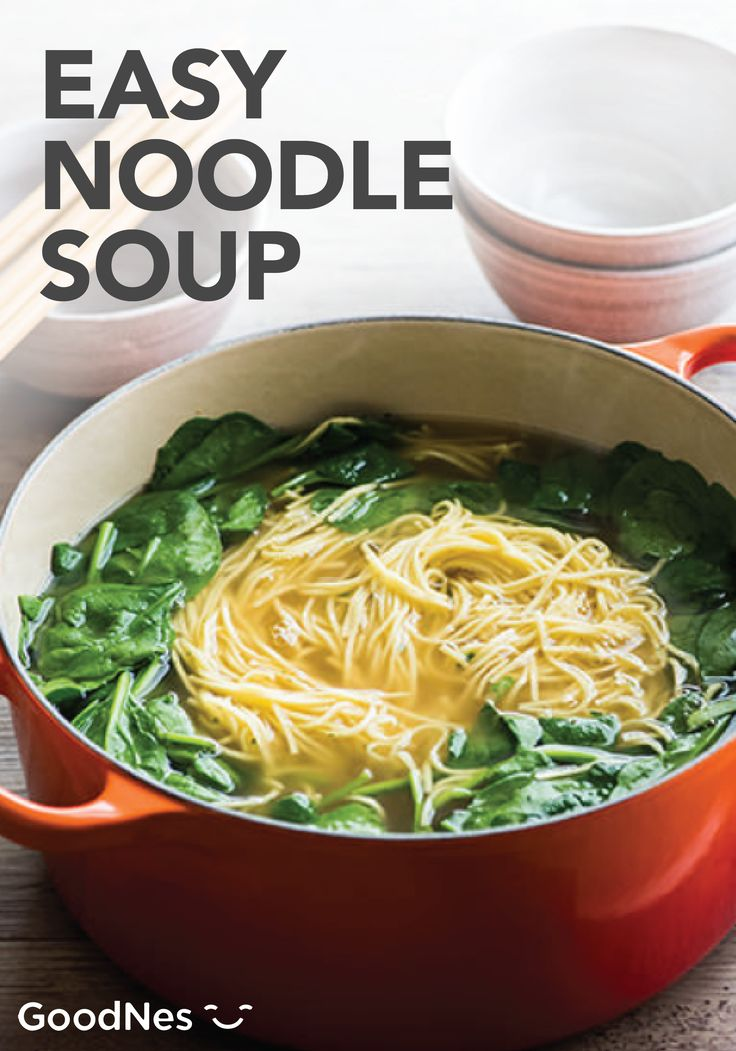 Stay warm this winter season with a quick and easy to make Noodle Soup. Featuring Buitoni® Refrigerated Angel Hair and Maggi® Chicken Flavor Bouillon Tablets, you will have a delicious meal with a taste you'll love.
