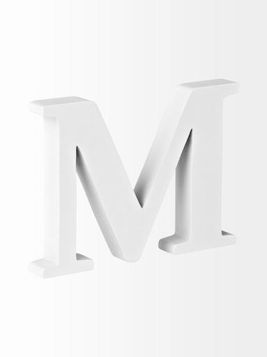 Casa Stockmann Puukirjain M,  myös V ja &- kirjaimet
