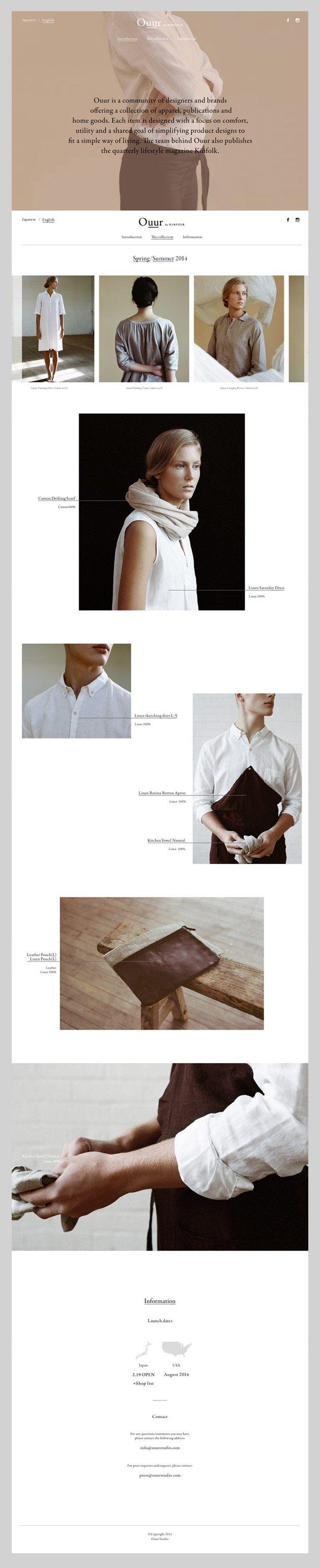 Inspiración Diseño Web 2# 03/2014 #web #webdesign #design #layout #grid #ecommerce