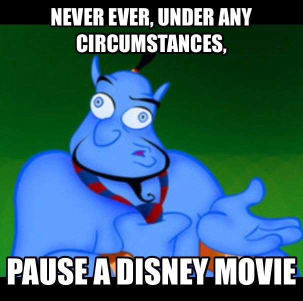 17 Best Images About Never Pause A Disney Movie On