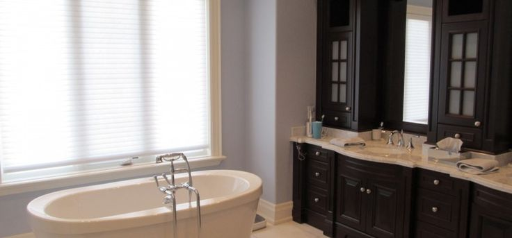 Ensuite bathroom painting by ColourWorks Painting Design Toronto