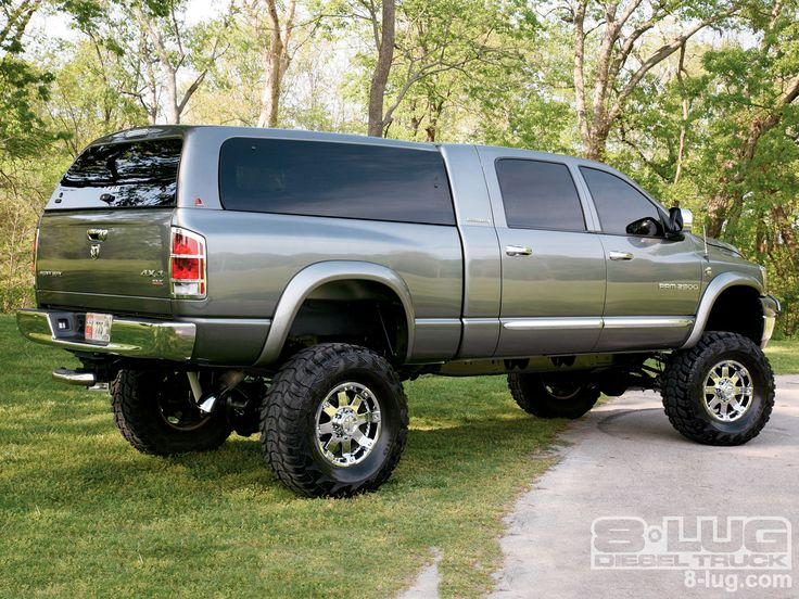 2006 Dodge Ram 2500 | 2006 Dodge Ram 2500 Mega Cab Right Side View