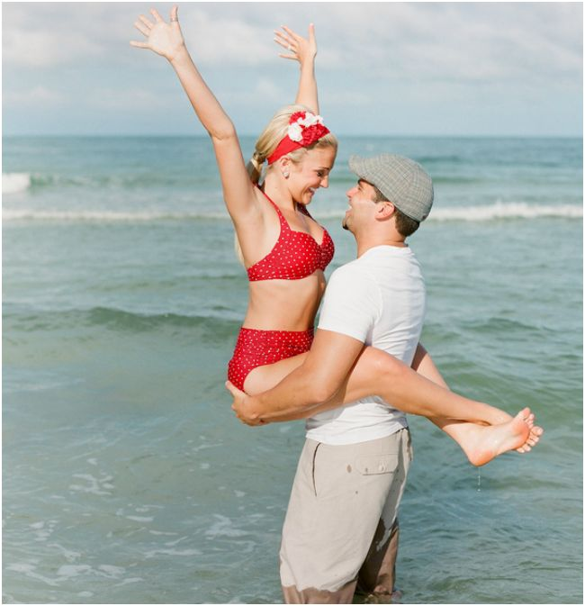 10 Fun Beach Engagement Ideas : Bajan Wed