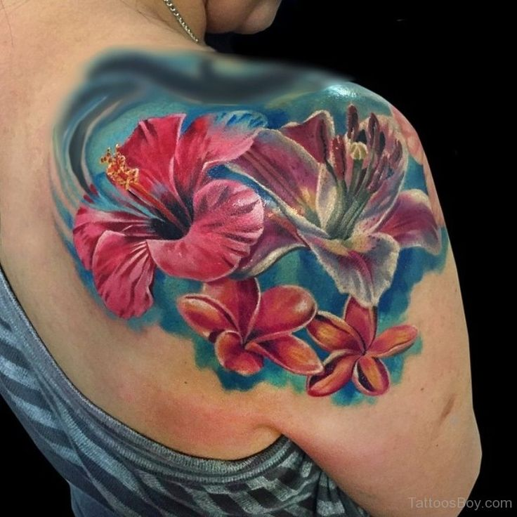 24 Hibiscus Flower Tattoos Designs Trends Ideas: Hibiscus Tattoo Images & Designs (With Images)