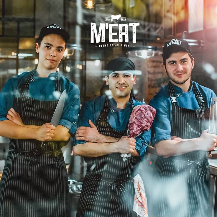 Our dream team is always on guard of your good appetite and delicious mood! #meat #meatbybeat #meatrestaurant #steakhouse #steaks #azerbaijan #baku #restaurants #food #cuisine #beef #veal #porterhouse