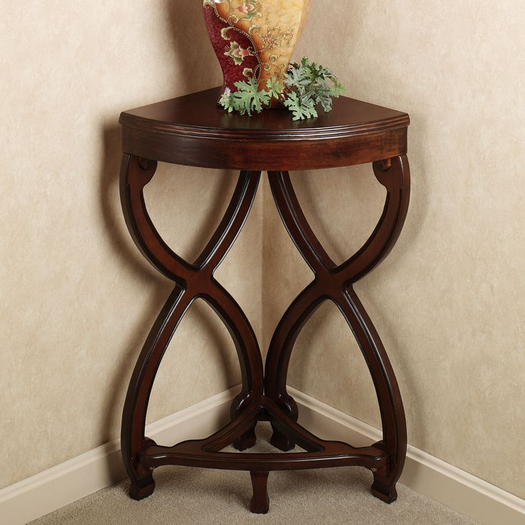 Best 25 corner accent table ideas on pinterest dining - Corner tables for living room online india ...