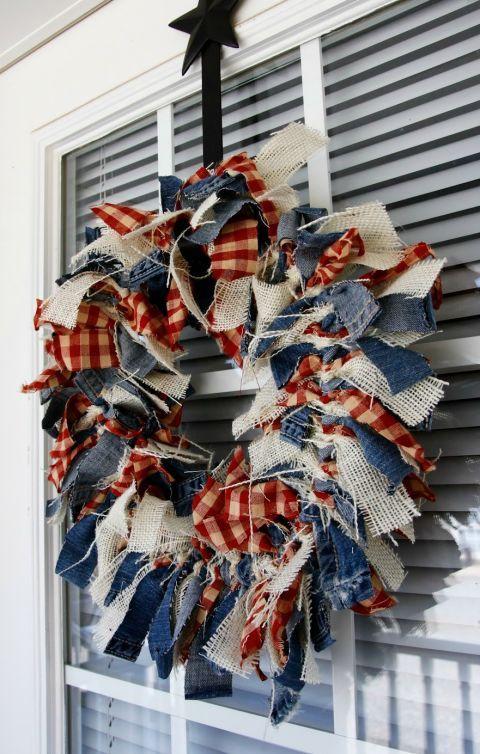 11 Ways to Dress Your Door With American Spirit