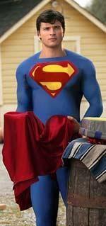 Официальный костюм супермена из тайны смолвиля фото