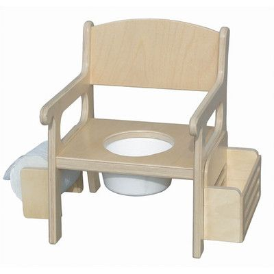 Little Colorado Potty Chair with Accessories Finish: Linen, Letter Color: Apple Green 2728- Linen-Apple Green Lettering,    #Little_Colorado_2728- Linen-Apple_Green_Lettering