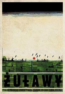 Żuławy, plakat z serii Polska, R. Kaja