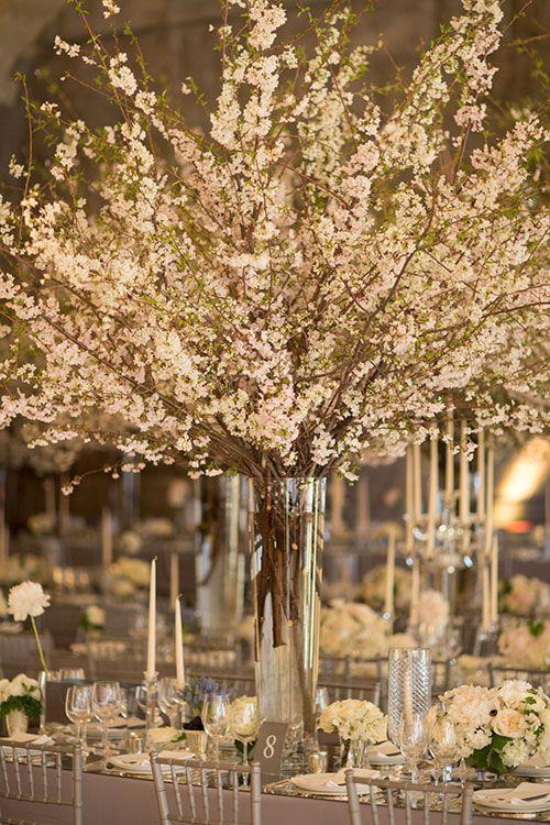 Cherry Blossom Centerpiece | Brides.com